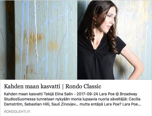Rondo Interview