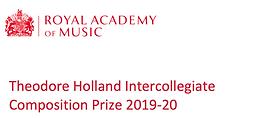 Theodore Holland Intercollegiate Composition Award
