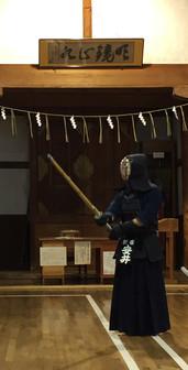 Aizu Wakamatsu castle dojo