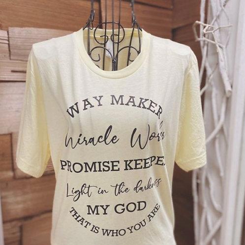 Way Maker Tee Shirt