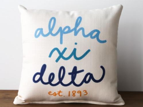 Alpha Xi Delta est. 1893