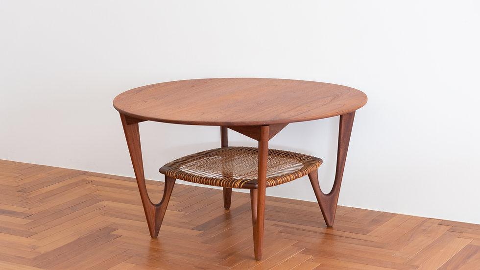 Kurt Østervig round sofa table