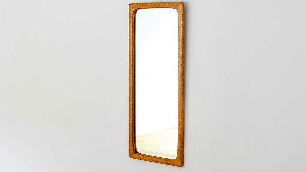 Vintage Mirror Oak