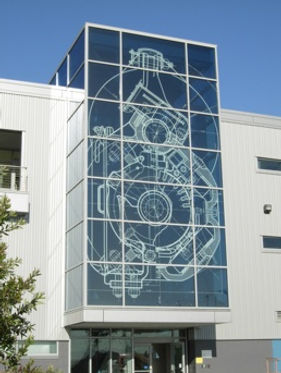 Etched Glass Blueprints
