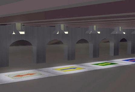Proposed pedestrian walkway