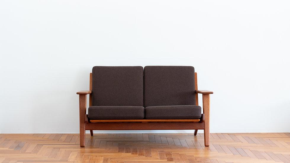Hans J Wegner GE-290 High Back Sofa Teak