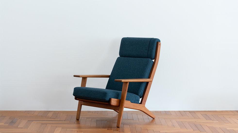 Hans J Wegner  GE-290 High Back Sofa