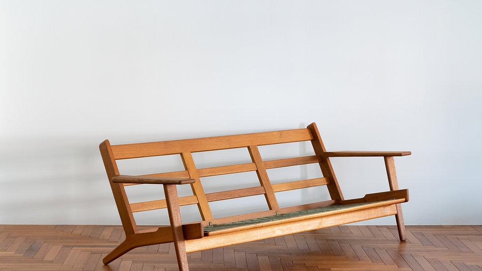 Hans J Wegner GE-290 Sofa 3 seater