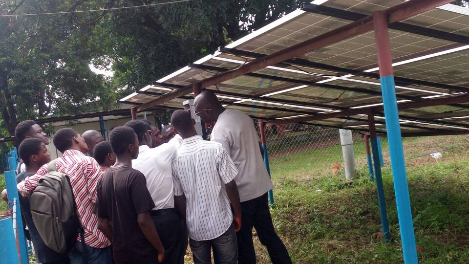 Solar Training for Students