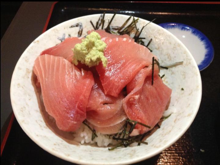 ③ Maguro-Nakaochi Don