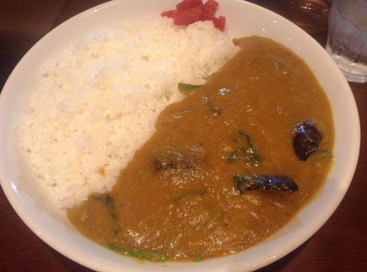 ⑧ Vegetable curry (600 yen)