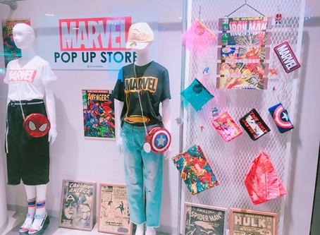 Must Visit Places for Marvel Fans in Japan: Marvel Pop-Up Stores