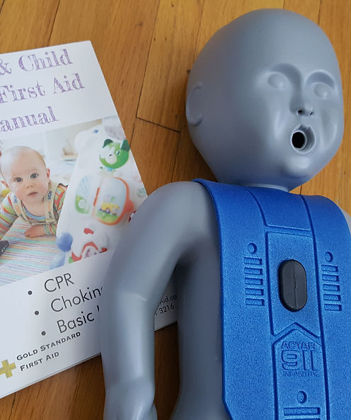 Infant & Child First Aid Manual
