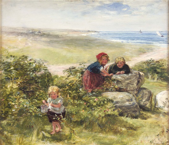 June Day, Arran by William MacTaggart