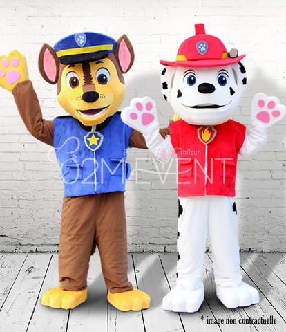 Chien Pompier & Policier