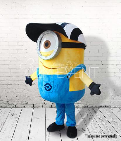 Bonhomme jaune 1 casquette