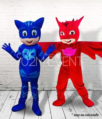"""Duo Mini héros """"rouge & bleu"""""""