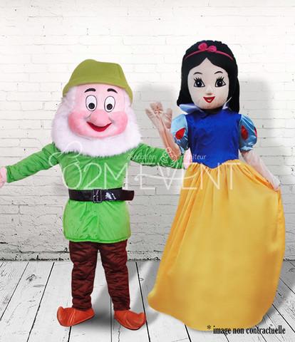 Princesse & Nain vert