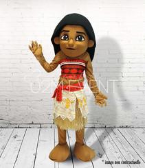 Petite fille des îles