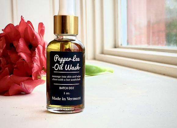 Oil Wash      (And Organic Hemp Blend Washcloth)