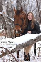 Hippi-que & Compagnons Jessica Skene Photographie potrait équin hiver