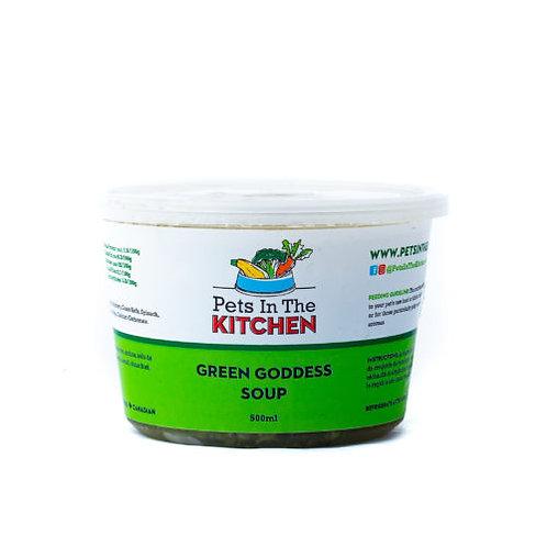 Soupe déesse verte de Pets in the Kitchen