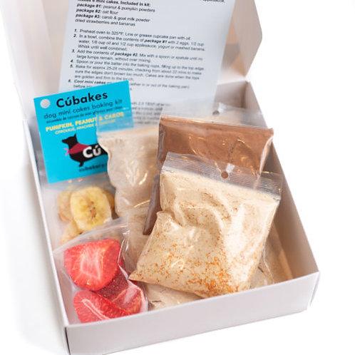 Kit de préparation à gâteau pour chien Cúbakes
