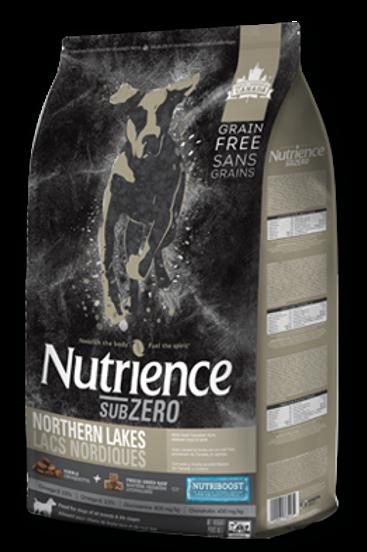 Nutrience Sub Zero Lac Nordiques