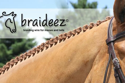 Braideez broche de tressage pour chevaux