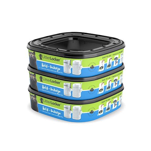 Recharge de poubelle à litière design + de LitterLocker