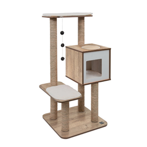Arbre à chat Catit Vesper V-High Base Chêne