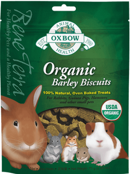 Biscuit d'orge Bio Oxbow