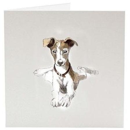 Carte de souhait chien de Sarah Jane Vickery
