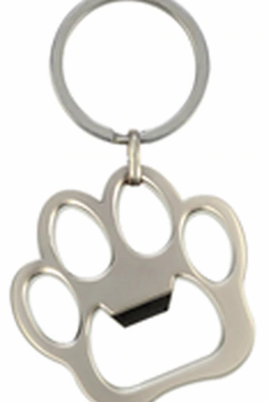 Porte-clef patte de chien