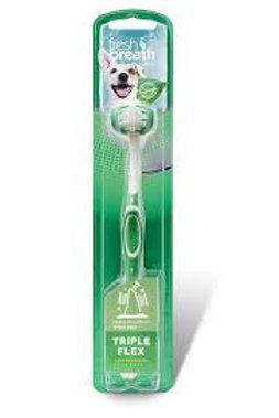 Brosse à dent triple face Tropiclean