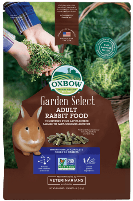 Nourriture pour lapin adulte Oxbow Garden Select