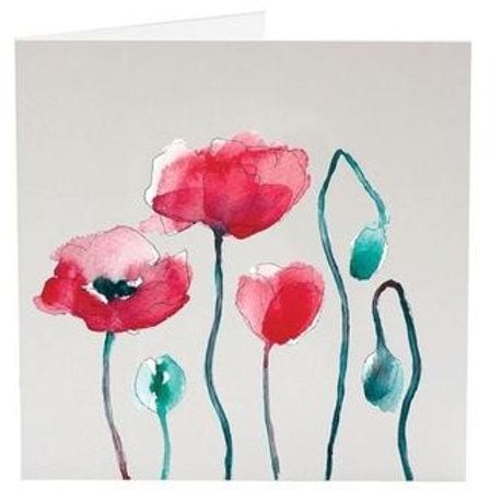 Carte de souhait fleur et insecte de SarahVickery