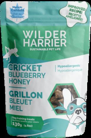 Bouchée de grillon bleuet et miel Wilder Harrier