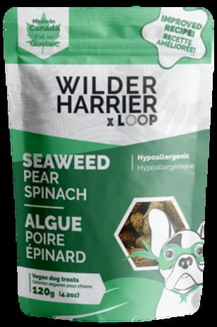 Bouché d'algue, poire et épinard Wilder Harrier