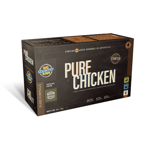 Repas de poulet pur de BCR