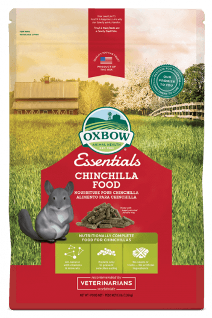 Nourriture pour chinchillas adulte Oxbow