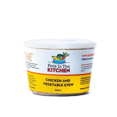 Ragoût de poulet Pets in the Kitchen