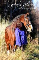 Hippi-que & Compagnons Jessica Skene Photographie potrait équin automne