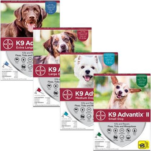 K9 Advantix de bayer |Contre les puces et les tiques
