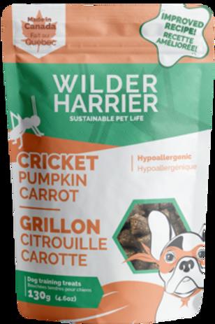 Bouchée de grillon, citrouille et carotte Wilder Harrier