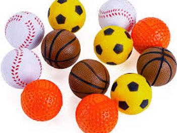 Balle sport en mousse Wonpet