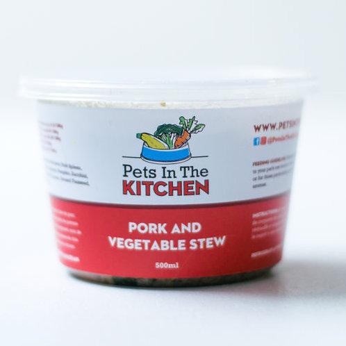 Ragoût de porc Pets in the Kitchen