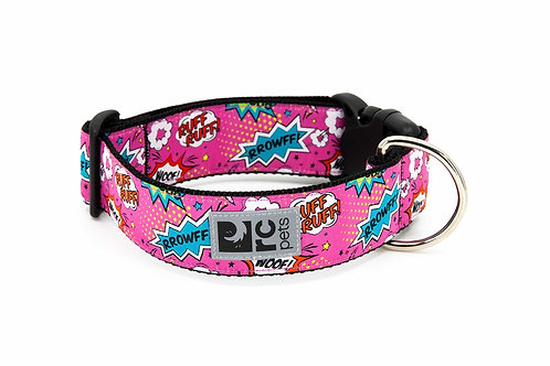 RC pets collier large cartoon rose