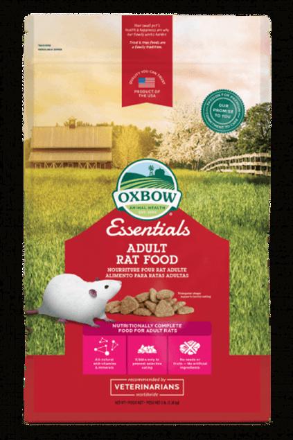 Nourriture pour rat adulte Oxbow