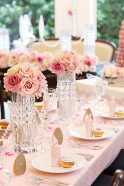 Table Pink Rose